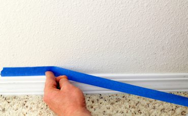 How to Fix Paint Peeled Off by Painters Tape